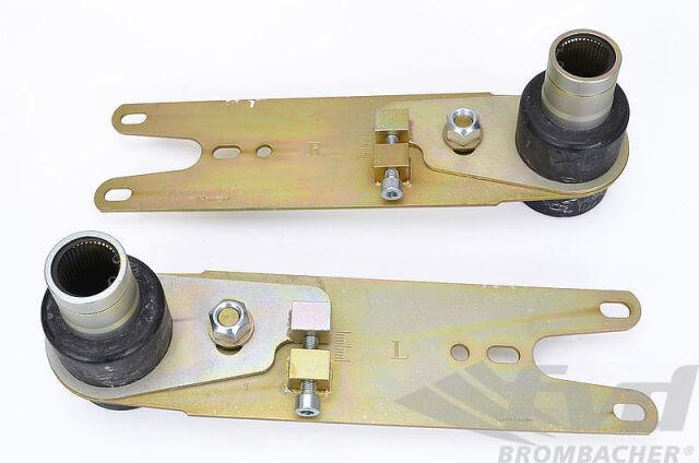 ポルシェ 911 912 930 アジャスタブルスプリングプレート Adjustable Spring Plate Set