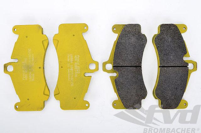 ポルシェ 997ターボ 997GT3 997GT3Cup PAGID Racing Brake Pads RSL29