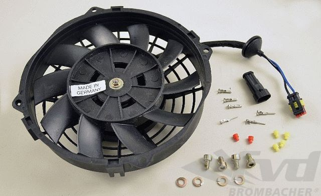 930・オイルクーラーファンモーターGenuine Auxiliary Fan for Front Oil Cooler