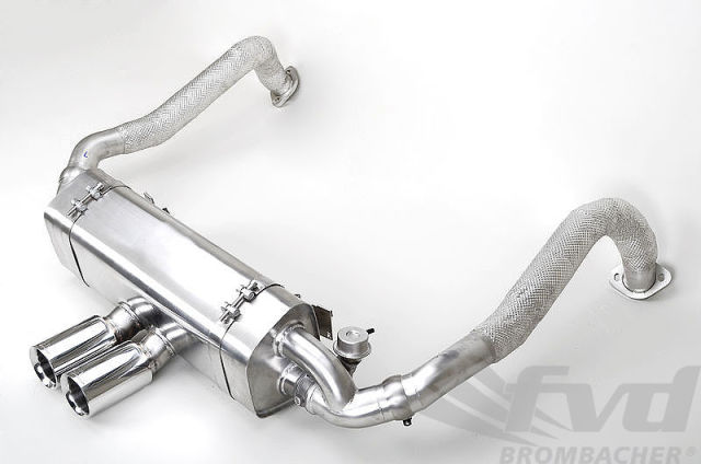"""718可変バルブスポーツマフラーFVD Sport Muffler with Exhaust Valve """"Brombacher Edition"""" 718"""