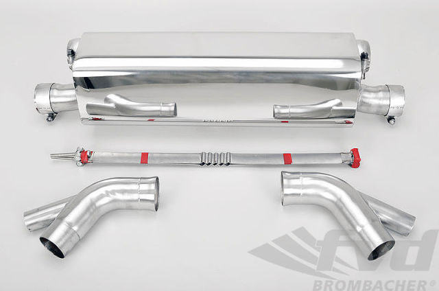 "991.2ターボスポーツマフラーFVD Sport Muffler ""Brombacher"" Sound Version 991.2 Turbo"