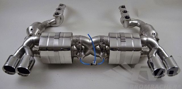 "991可変バルブマフラーFVD Exhaust System with Valves ""Brombacher"" 991"