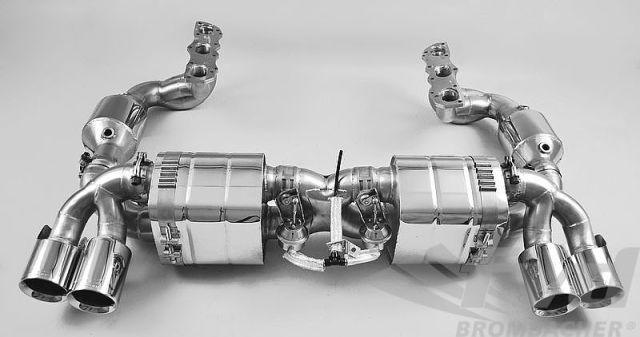 ポルシェ 991カレラS カレラ4S FVDエグゾーストシステム(バルブ付) Exhaust System with Valves