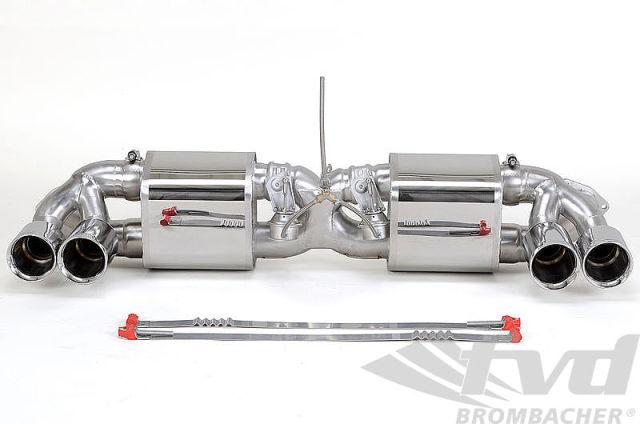 ポルシェ・991カレラS/カレラ4S 可変スポーツエグゾーストシステム Sport Exhaust System with Valves