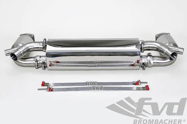 ポルシェ・991.2ターボ/ターボS スポーツエグゾーストシステム Sport Exhaust System