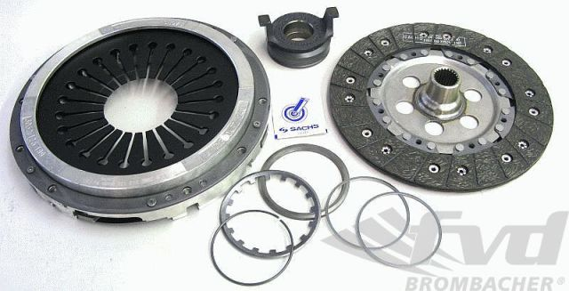 993/996/997・G50クラッチキットClutch Kit ZF SACHS Performance For Light Weight Flywheel
