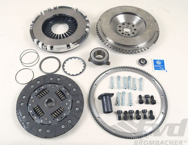 996GT3/997GT3・スポーツクラッチキットFVD Sport Clutch Kit (incl. Light Flywheel)