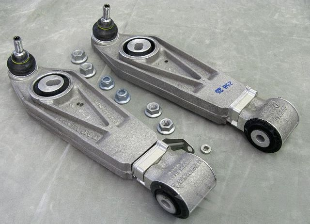ポルシェ 996カレラ/997ターボ・フロントロアアームセット(レベルコントロール)FVD Front Lower Control Arm