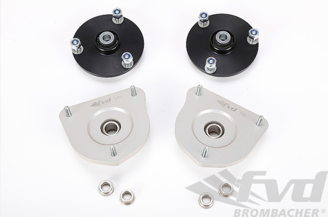 ポルシェ 997カレラ4 997カレラ4S 997ターボ 997GT2 ピロアッパーマウントセット Monoball Camber Plate Set