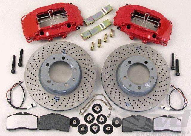 ポルシェ 964カレラ フロントビッグブレーキシステム Big Red Brake System Front