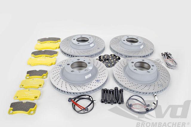 ポルシェ 997カレラ各モデル カップスチールローター換装キット PCCB to Steel Rotor Cup conversion