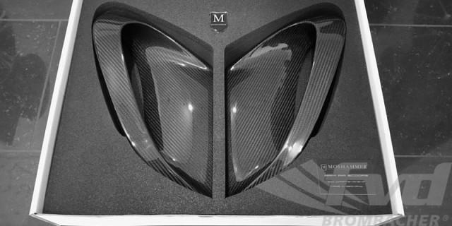 ポルシェ・991ターボ/ターボS モシャマー・ラムエアーインレット Moshammer Ram Air Side Inlet Set