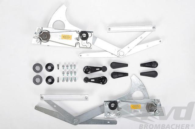 ポルシェ 964/993各モデル マニュアルウィンドーリフトキット Manual Window Kit