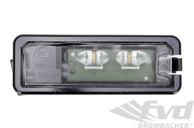 ポルシェ 997/997.2/991/991.2各モデル 981/718ボクスター・ケイマン LEDライセンスバルブ LED License Plate Light