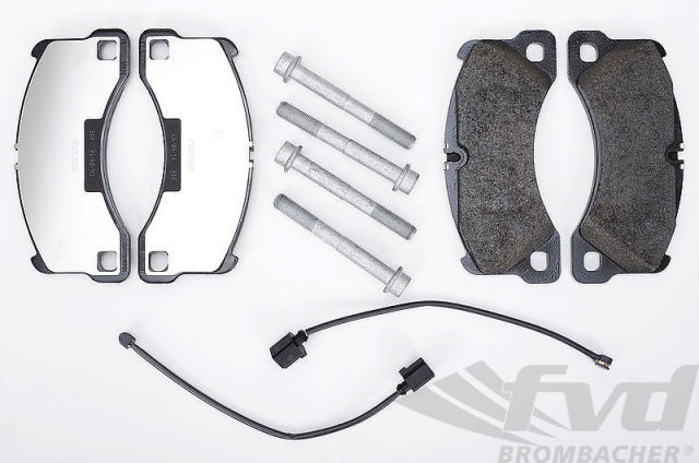 ポルシェ・970パナメーラV6 フロントブレーキサービスキット Brake service kit front