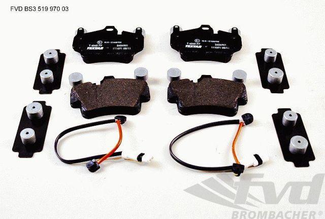 ポルシェ・997カレラ フロントブレーキサービスキット Brake service kit front
