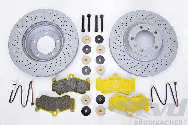 ポルシェ 997GT3 フロントブレーキサービスキット Brake service kit front