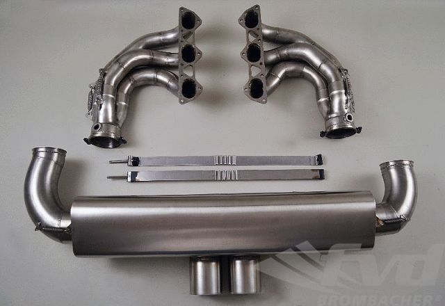 997GT3RSレーシングマフラーFVD 90 mm Race Exhaust System 997GT3RS 4.0