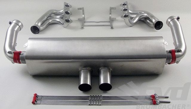 【997.2GT3 Cup レーシングマフラー】Race Exhaust System 997.2 GT3 Cup