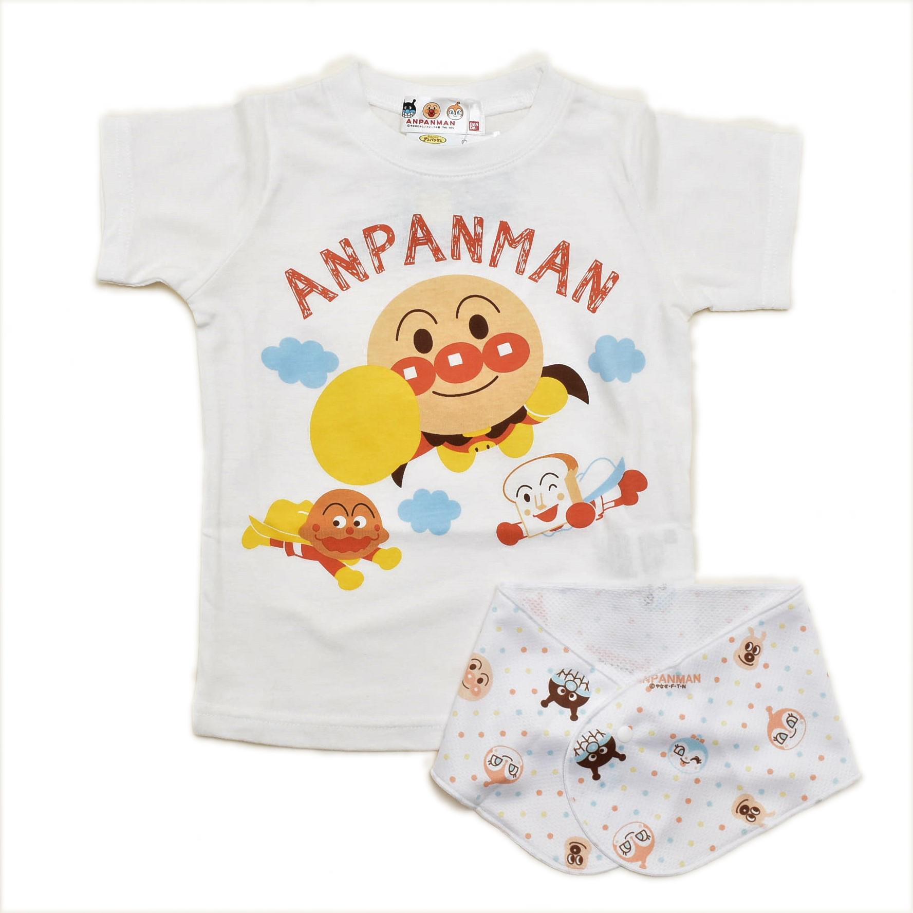 アンパンマン  半袖Tシャツ  ネッククーラ付き 90cm/95cm (TA3230)