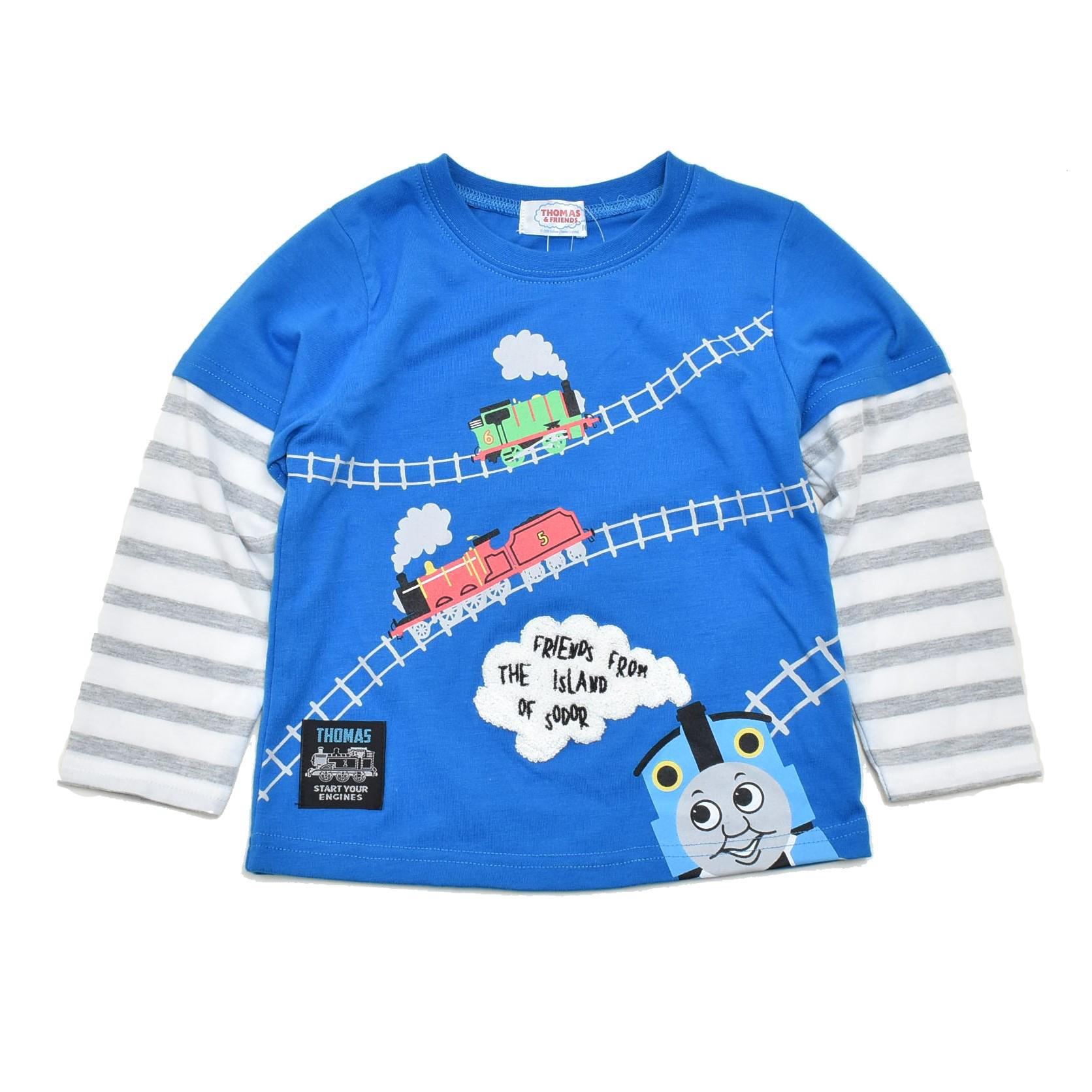 きかんしゃトーマス 長袖Tシャツ 90cm-130cm(342168001-82)
