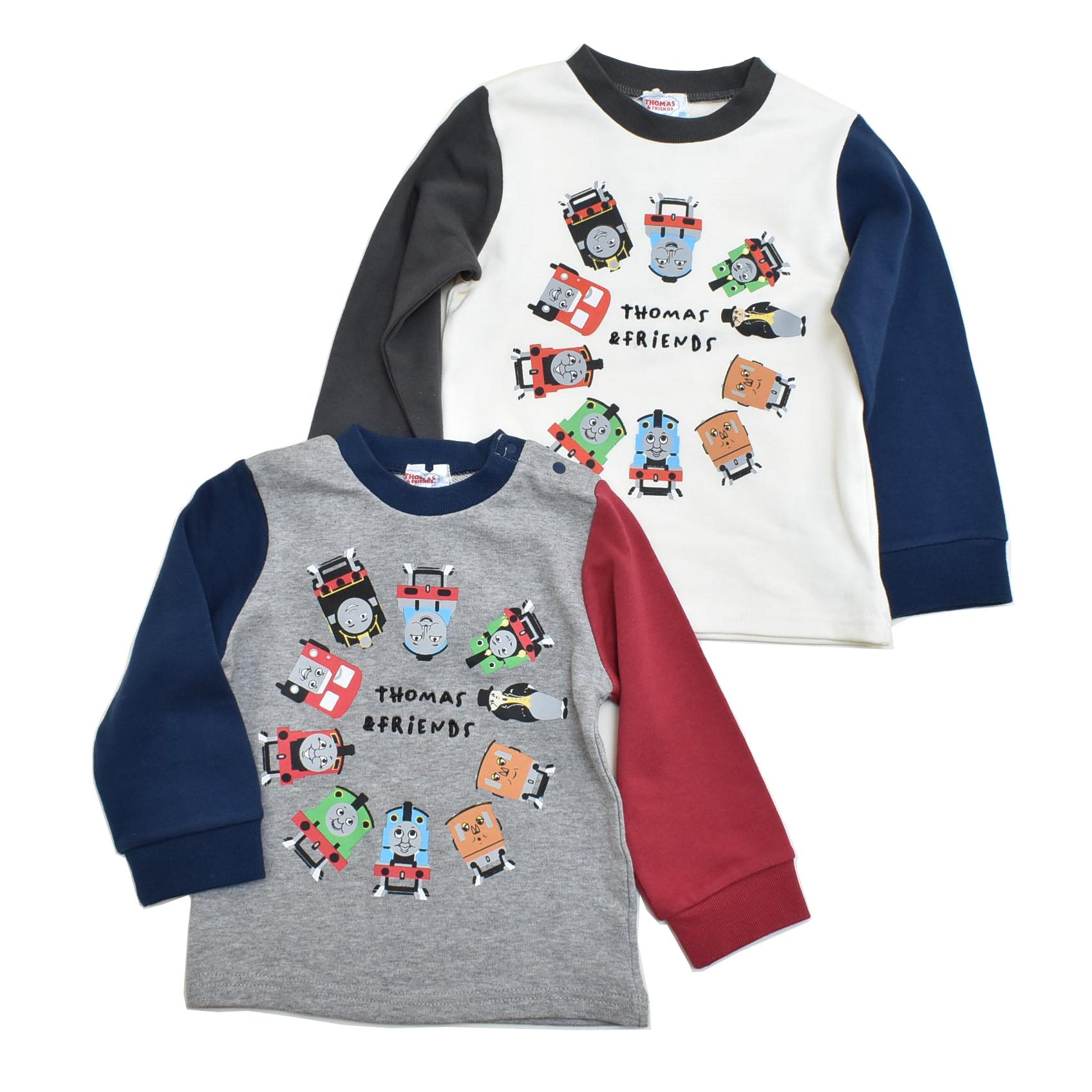 きかんしゃトーマス  厚手の長袖Tシャツ  (322161011)