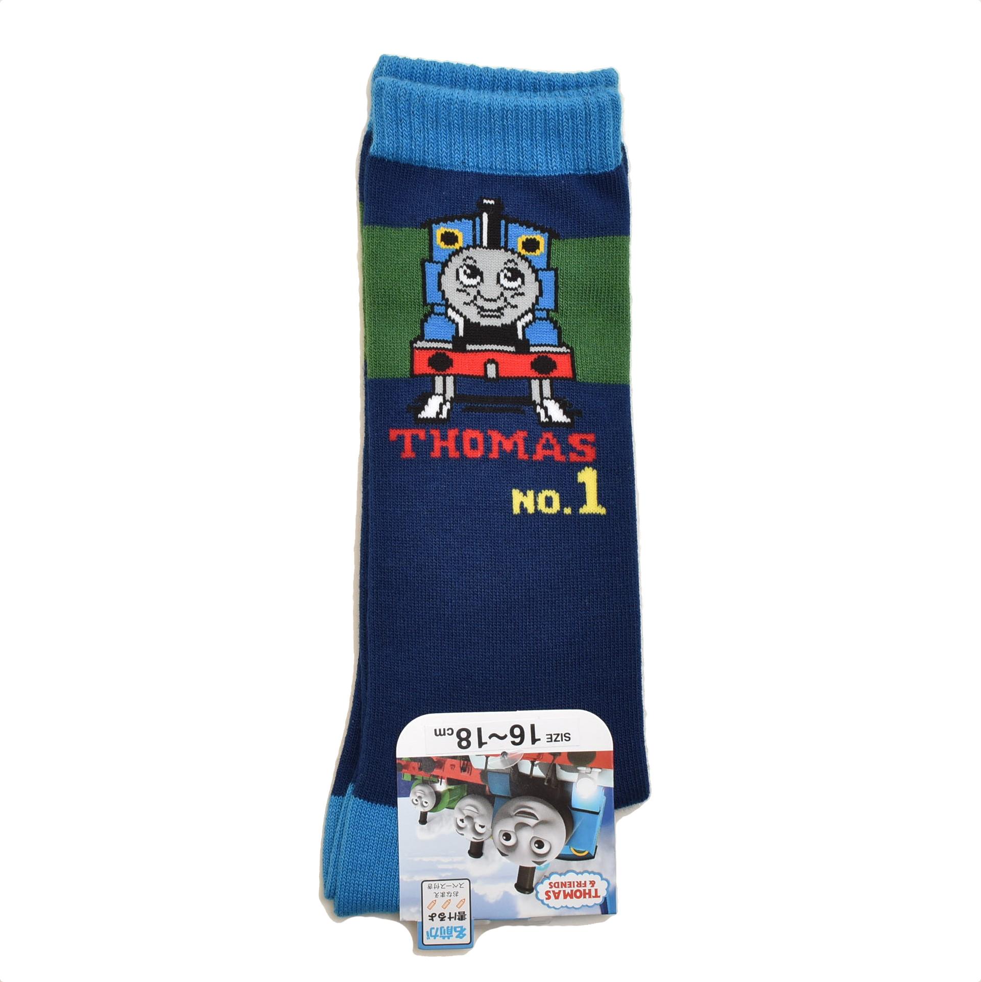 きかんしゃトーマス ハイソックス 靴下 16~18cm(571-20A5-700)