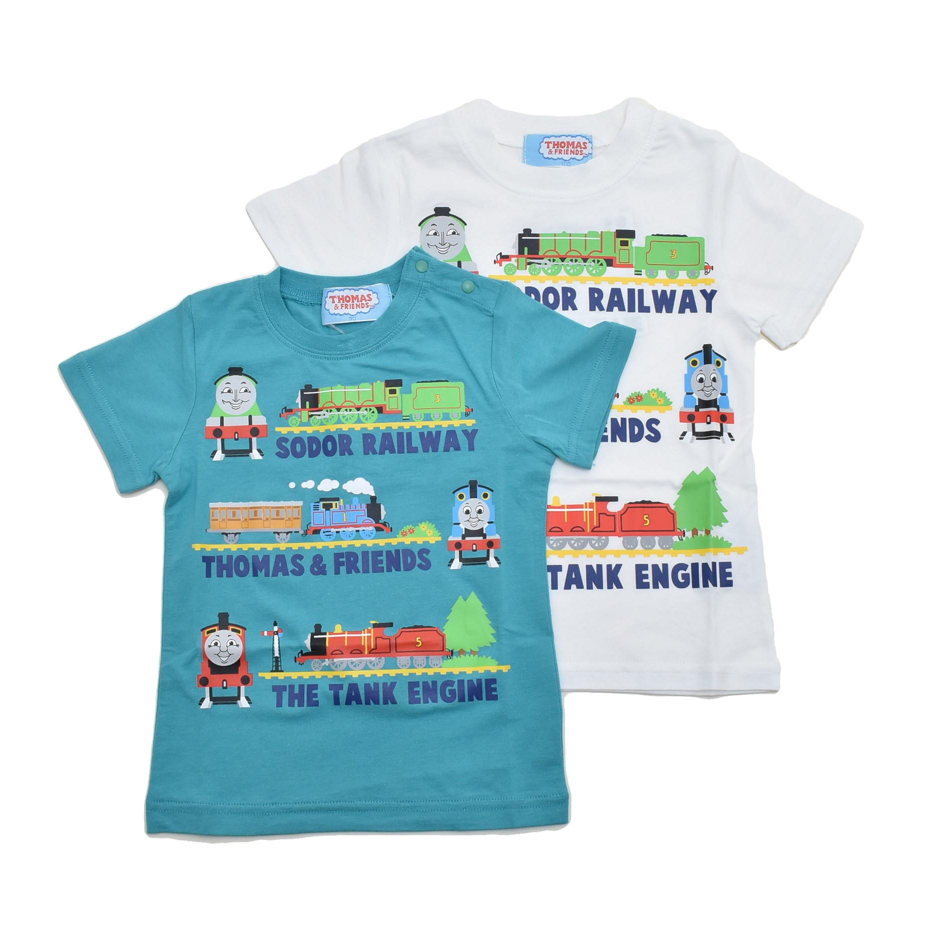 きかんしゃトーマス 半袖Tシャツ 90cm-120cm (142TM0021)