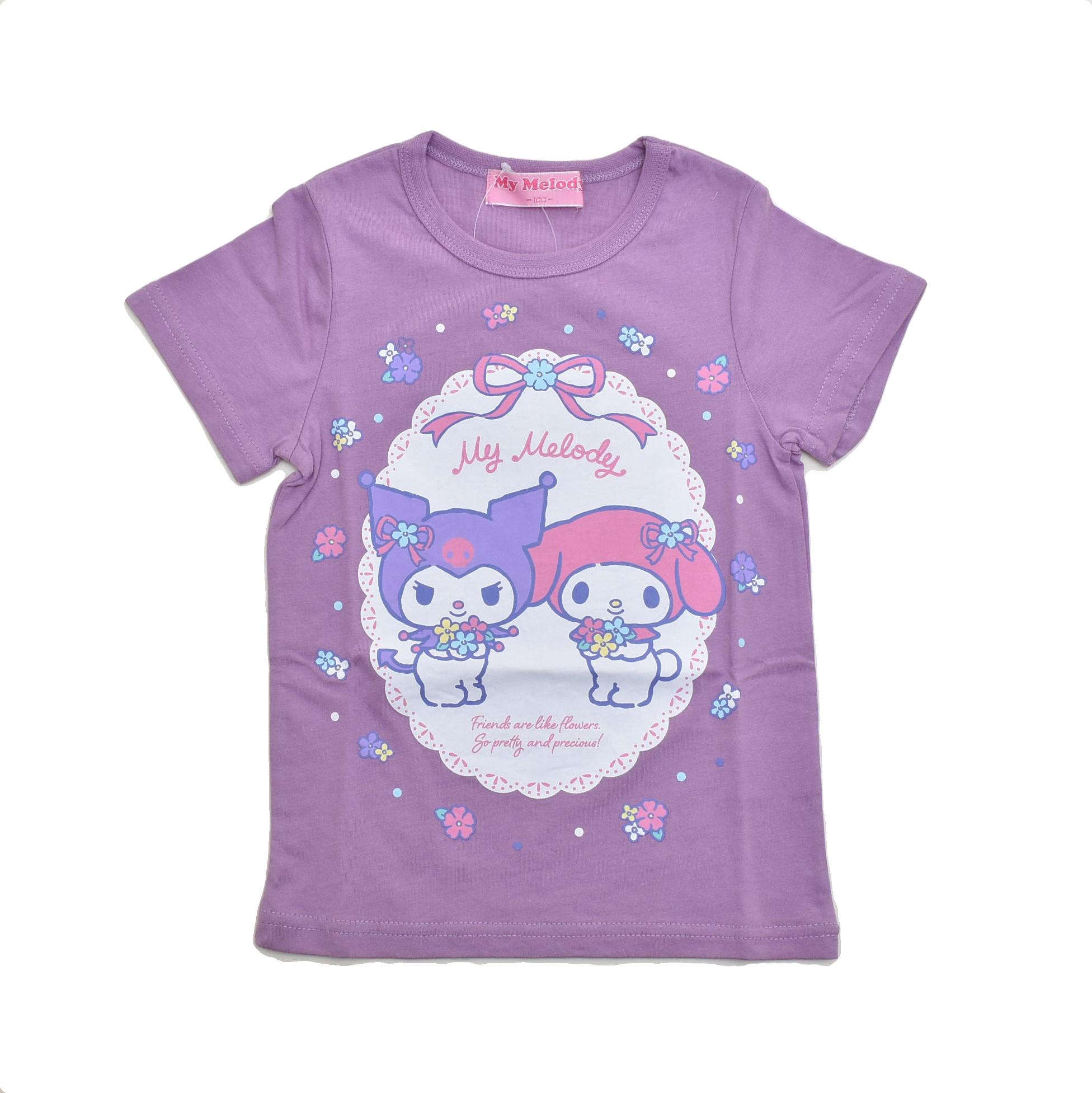 サンリオ マイメロディ  半袖Tシャツ 100cm-130cm (142MM0021)