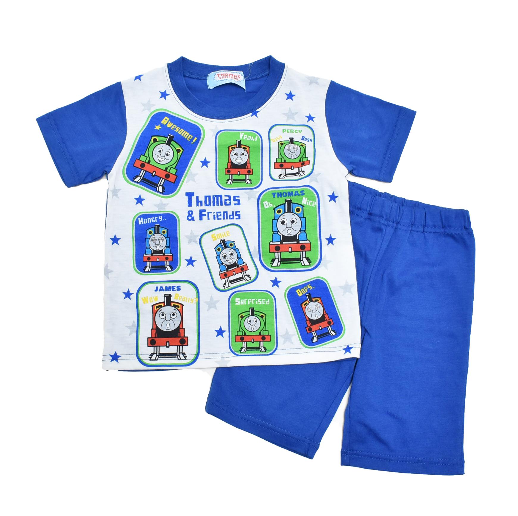 きかんしゃトーマス 半袖Tシャツ生地のパジャマ  100-130cm (132TM0071)