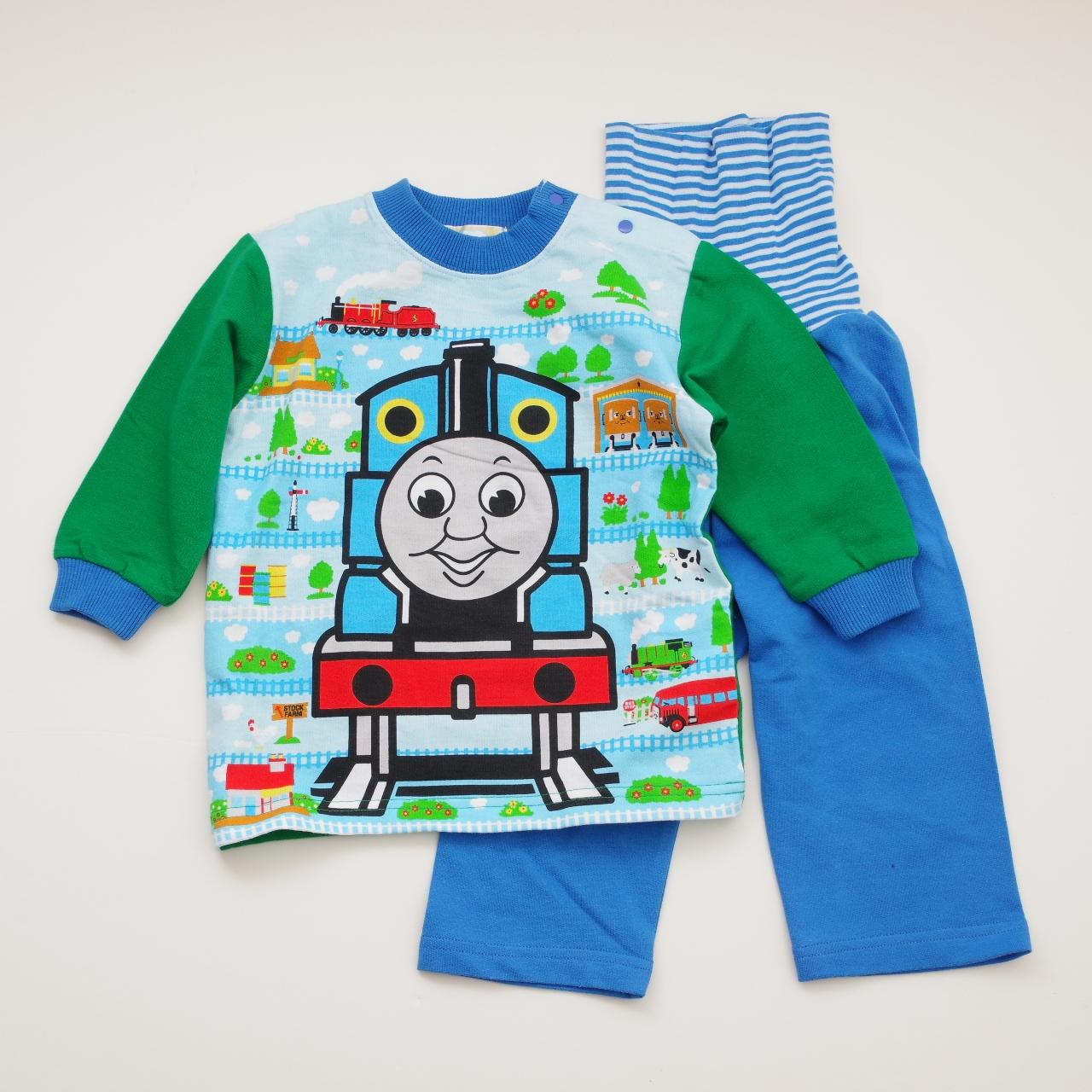 きかんしゃトーマス 腹巻つき長袖パジャマ 80-95cm (T7105)