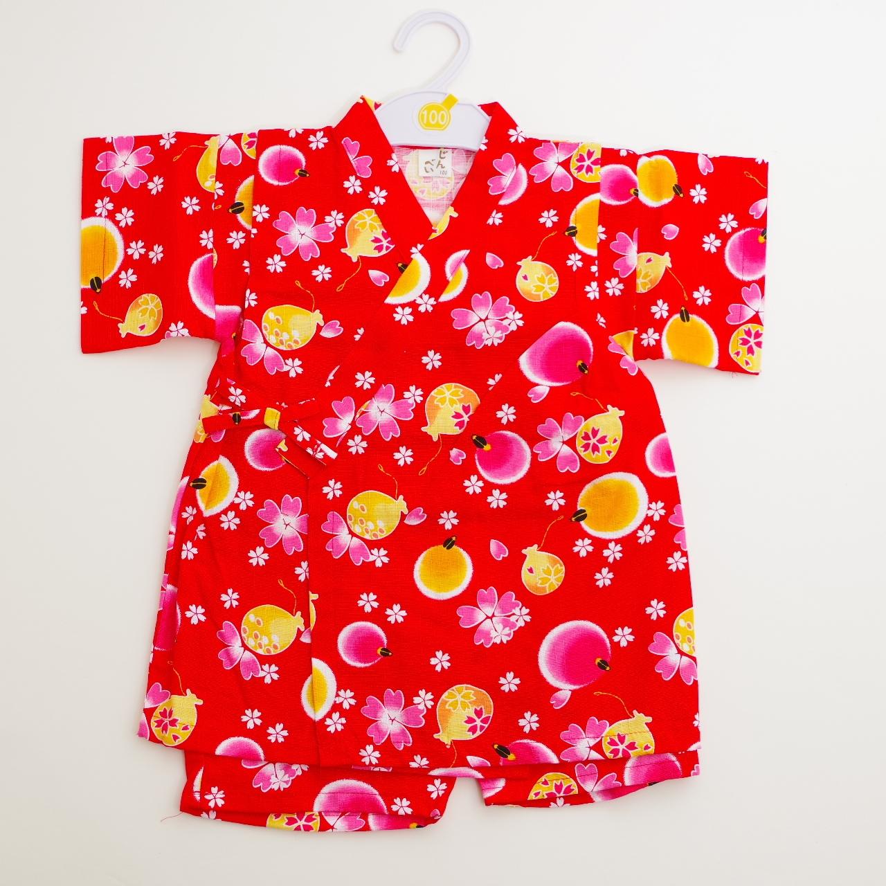日本製 甚平スーツ 祭り 女の子 ホタル  110cm/120cm/130cm(720944)