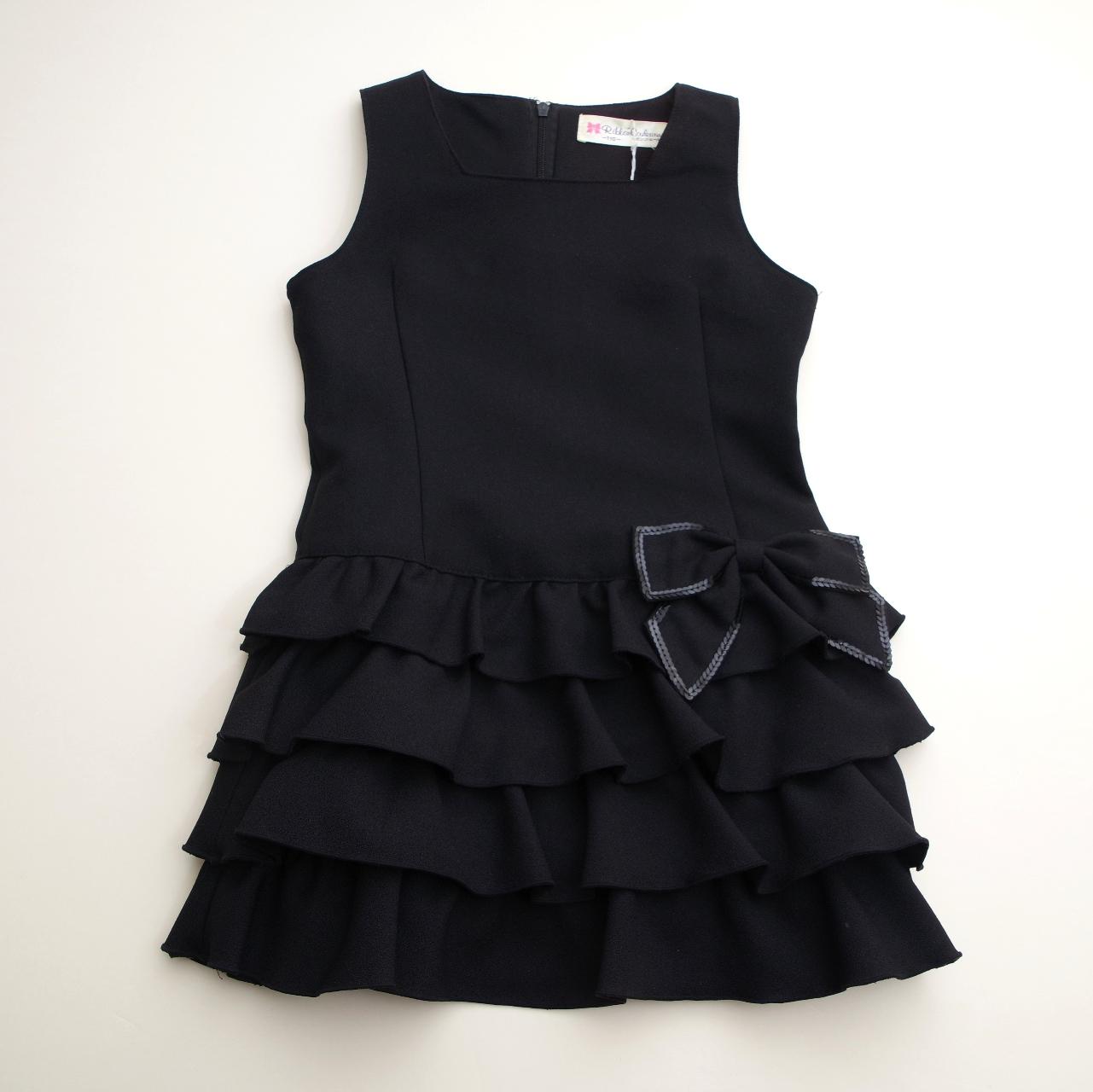 ジャンパースカート ブラック色 110cm/120cm/130cm (517387)