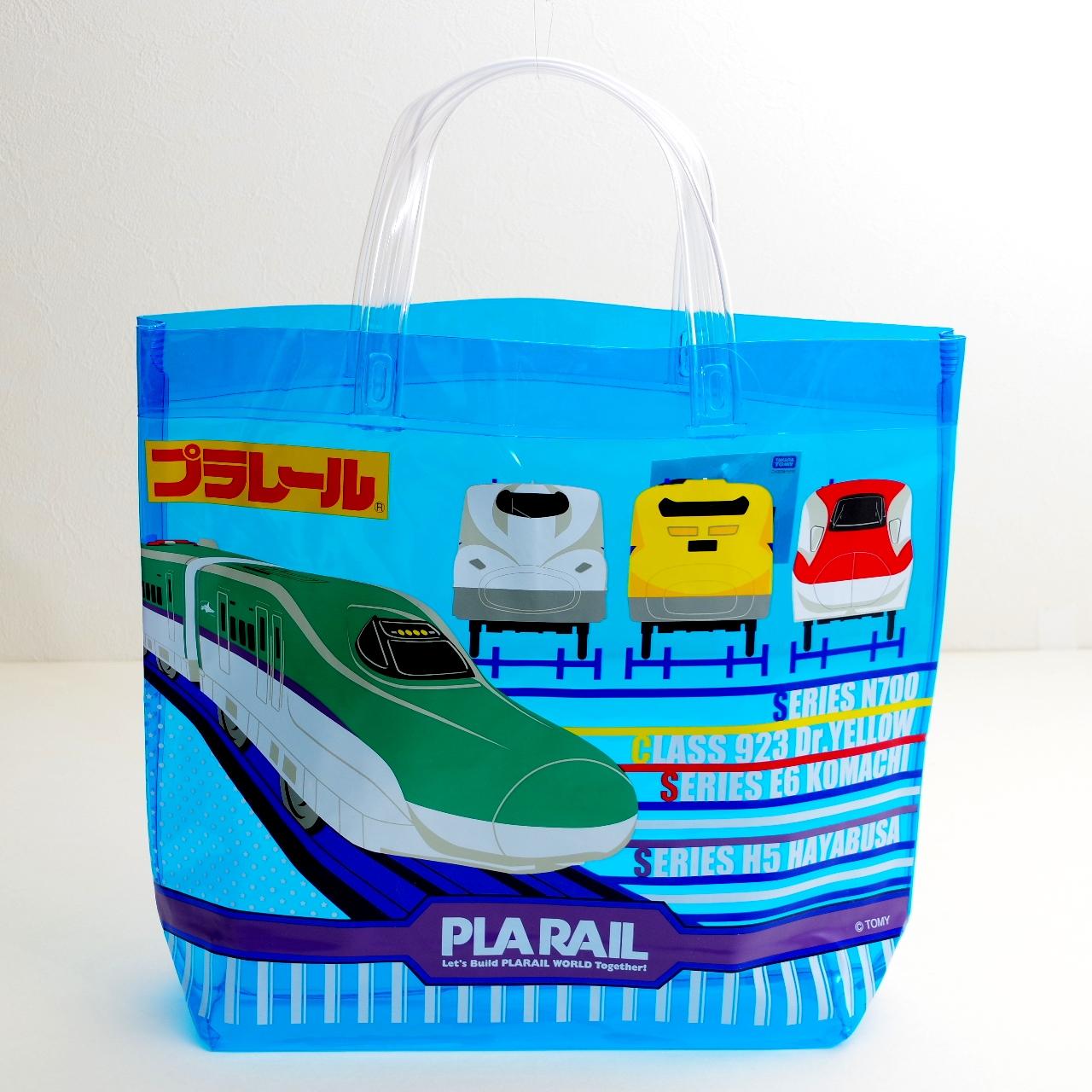 日本製 プラレール プールバッグ ビーチバッグ  (LB8-980)
