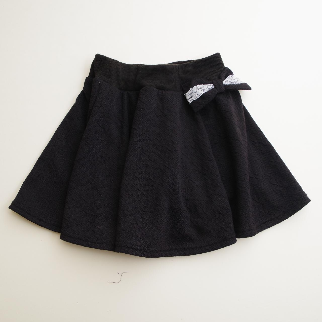 フレアースカート パンツイン ブラック 110cm/120cm/130cm(56000)
