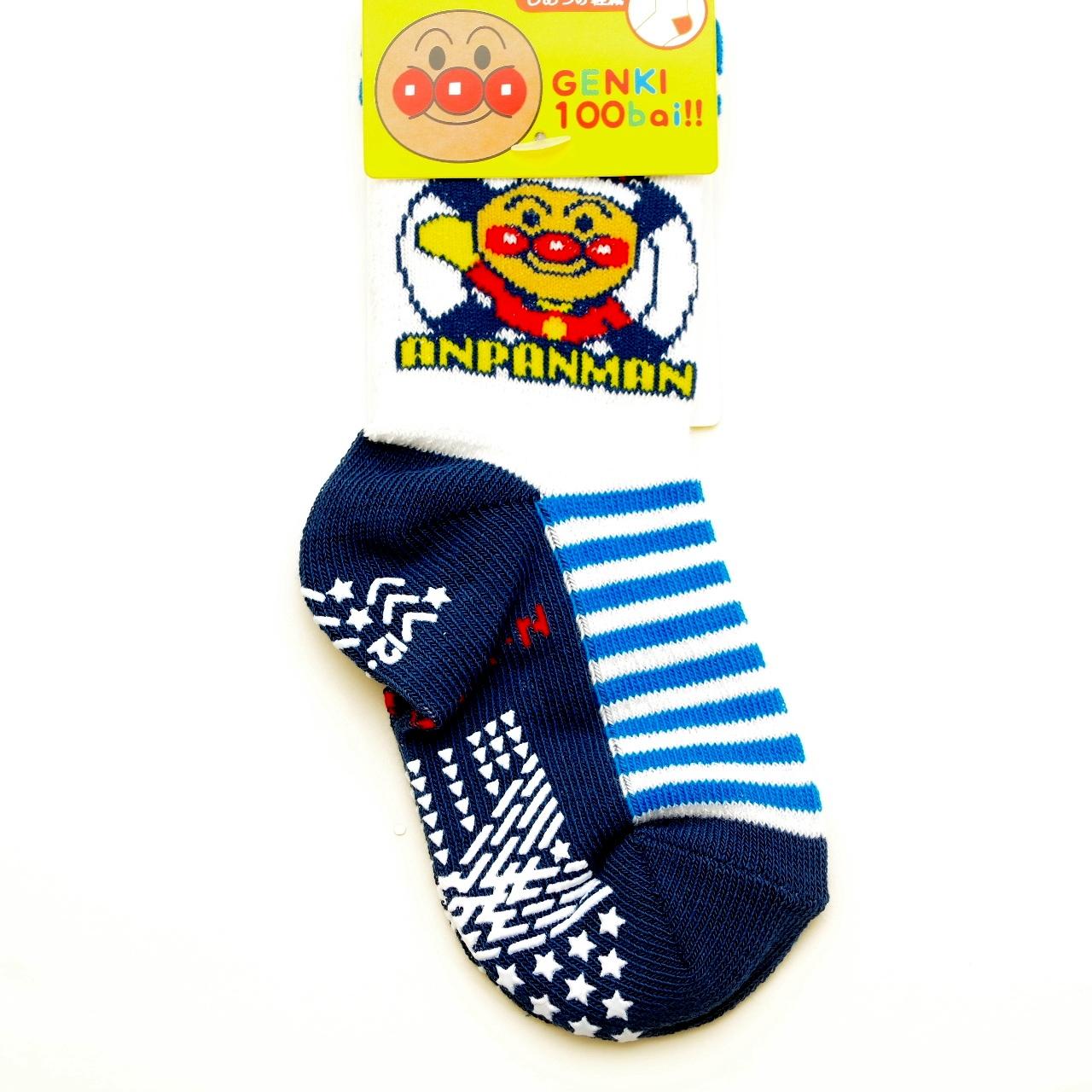 アンパンマン ソックス・靴下 スベリ止メ付き 9-12/12-15cm(1871-182-740)