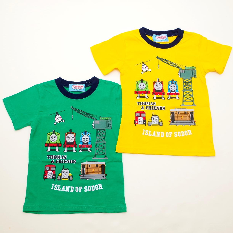 きかんしゃトーマス 半袖Tシャツ 100cm-120cm (842TM0021)
