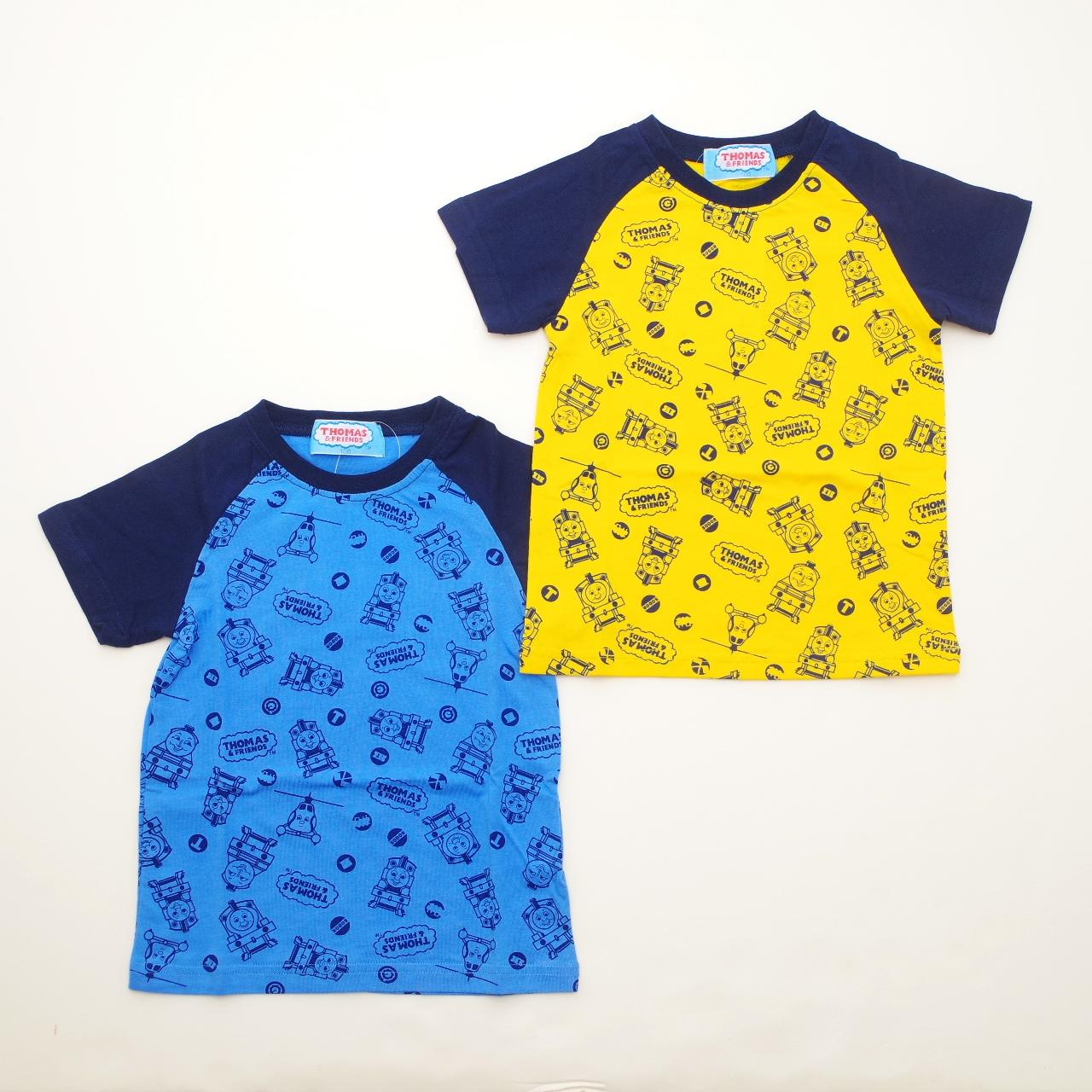 きかんしゃトーマス 半袖Tシャツ 100cm-120cm (842TM0041)