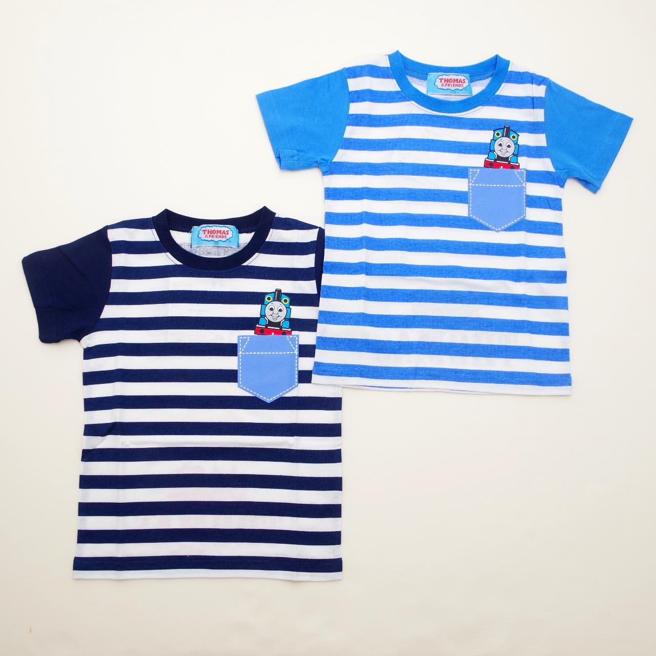 きかんしゃトーマス 半袖Tシャツ 100cm-120cm (842TM0031)