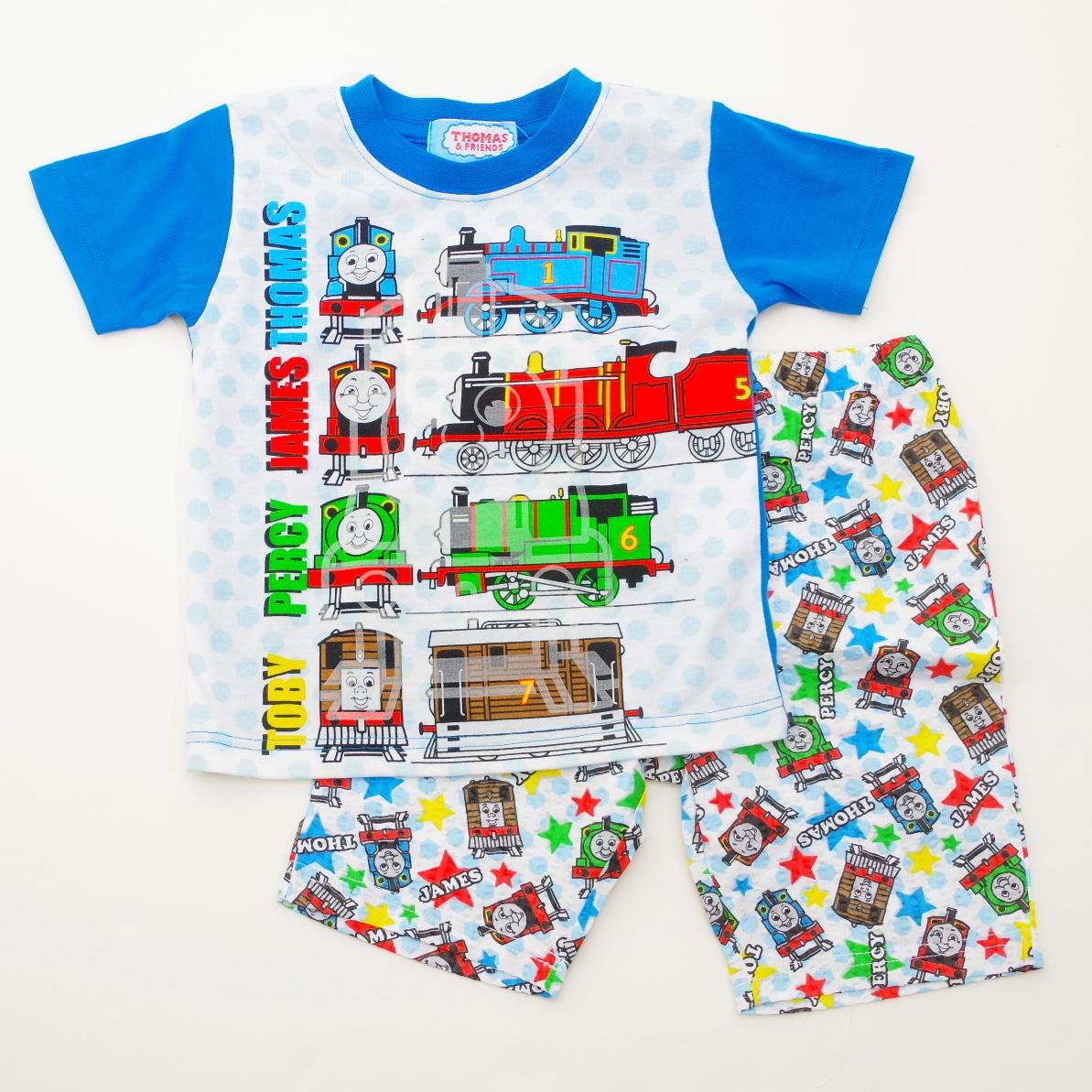 きかんしゃトーマス 光る半袖パジャマ 100-130cm(832TM004113)