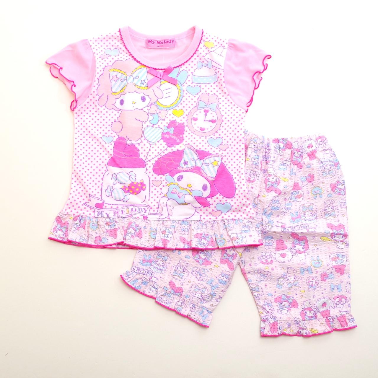 サンリオマイメロディ 光る半袖パジャマ 100-130cm(832MM004113)