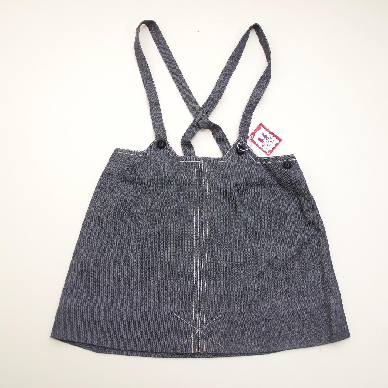レトロ チルドレンのジャンパースカート 5-6才 (1805-0908)