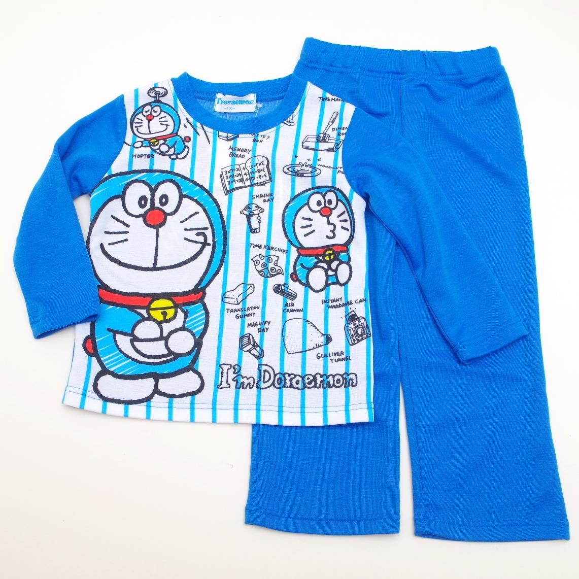 アイムドラえもん 光る長袖パジャマ 100-130cm (833DR102113)