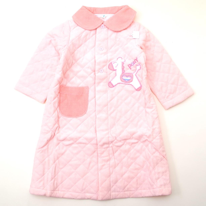 レトロ おとぎの国のキルトガウン 3才 PONYピンク色 (1811-1621)