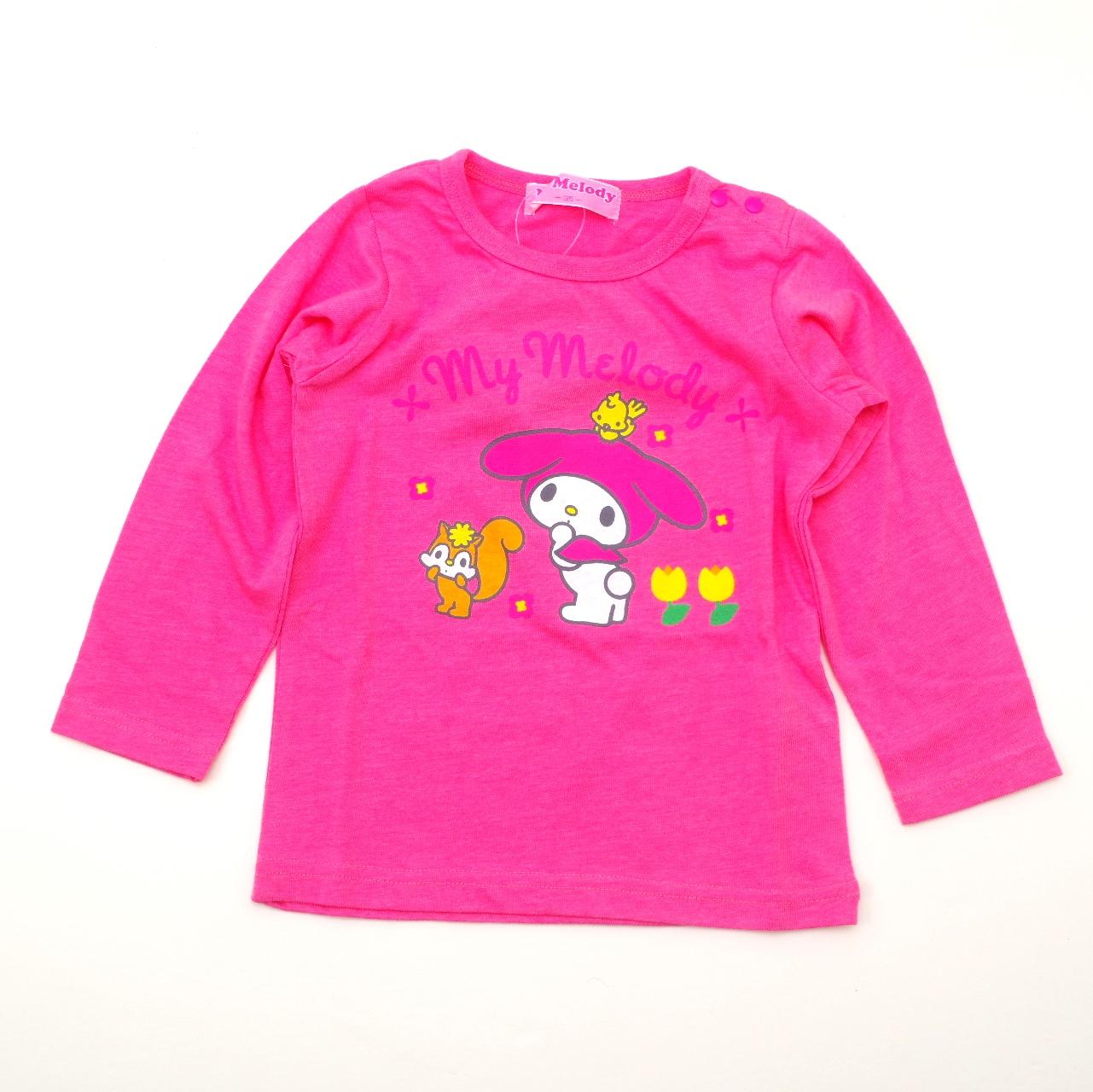 サンリオ マイメロディ   長袖Tシャツ 95cm-130cm(941MM4011)