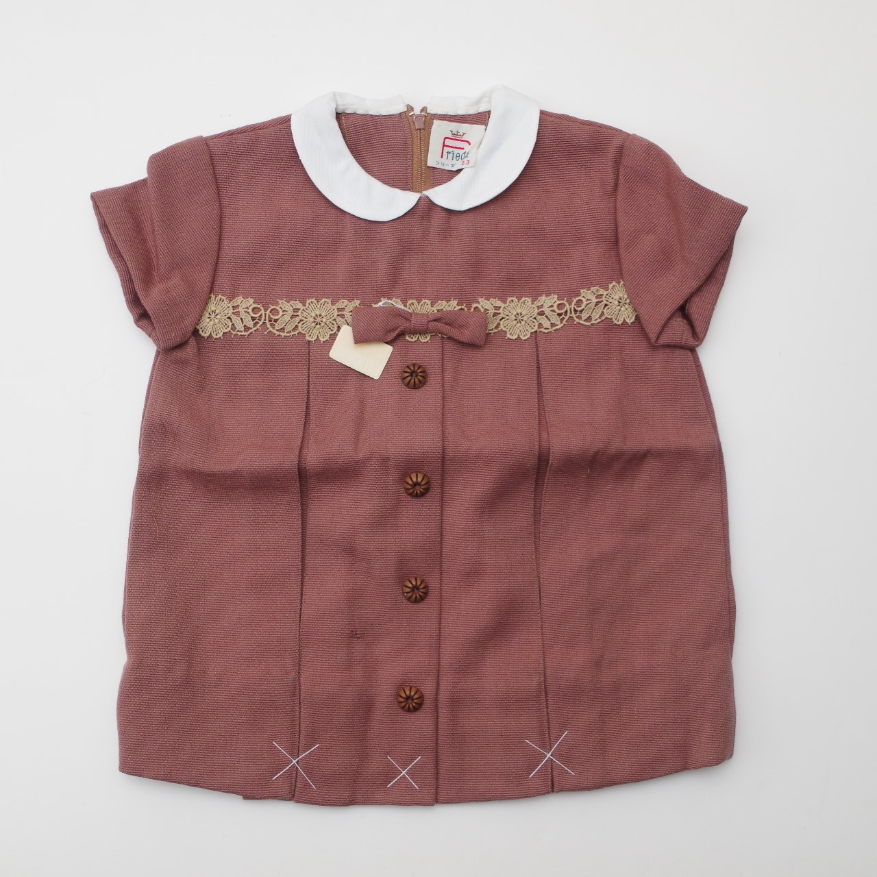 フリーダー の半袖お洋服 5-6才  (1902-2002)