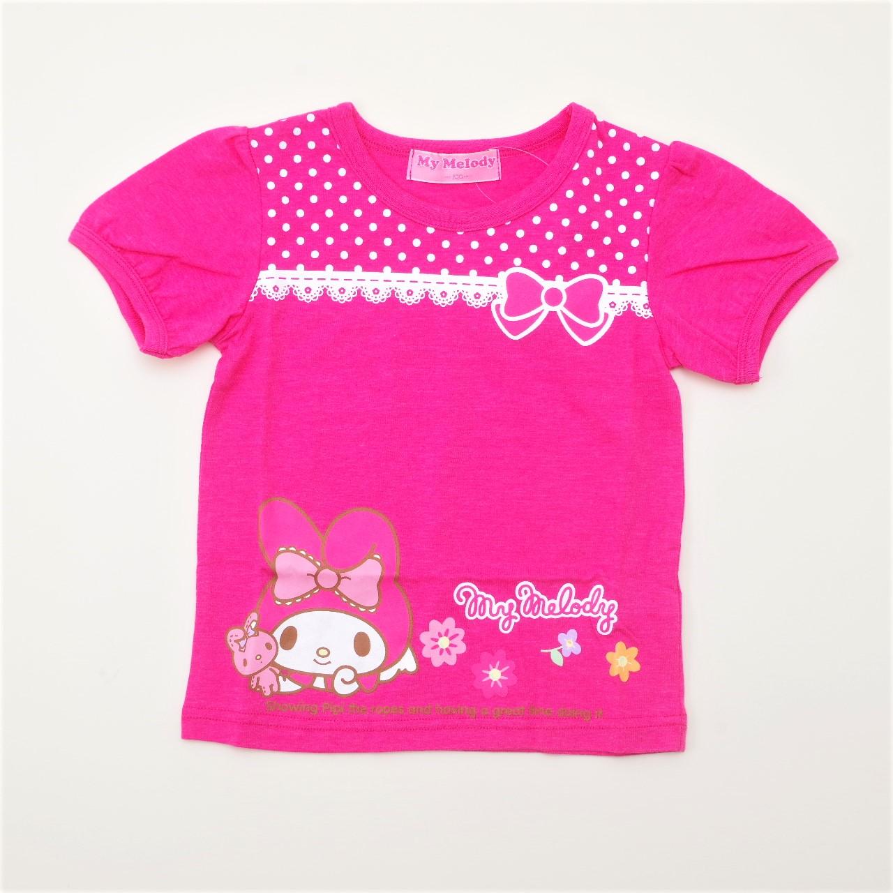 サンリオマイメロディ 半袖Tシャツ 100cm-130cm (942MM0031)