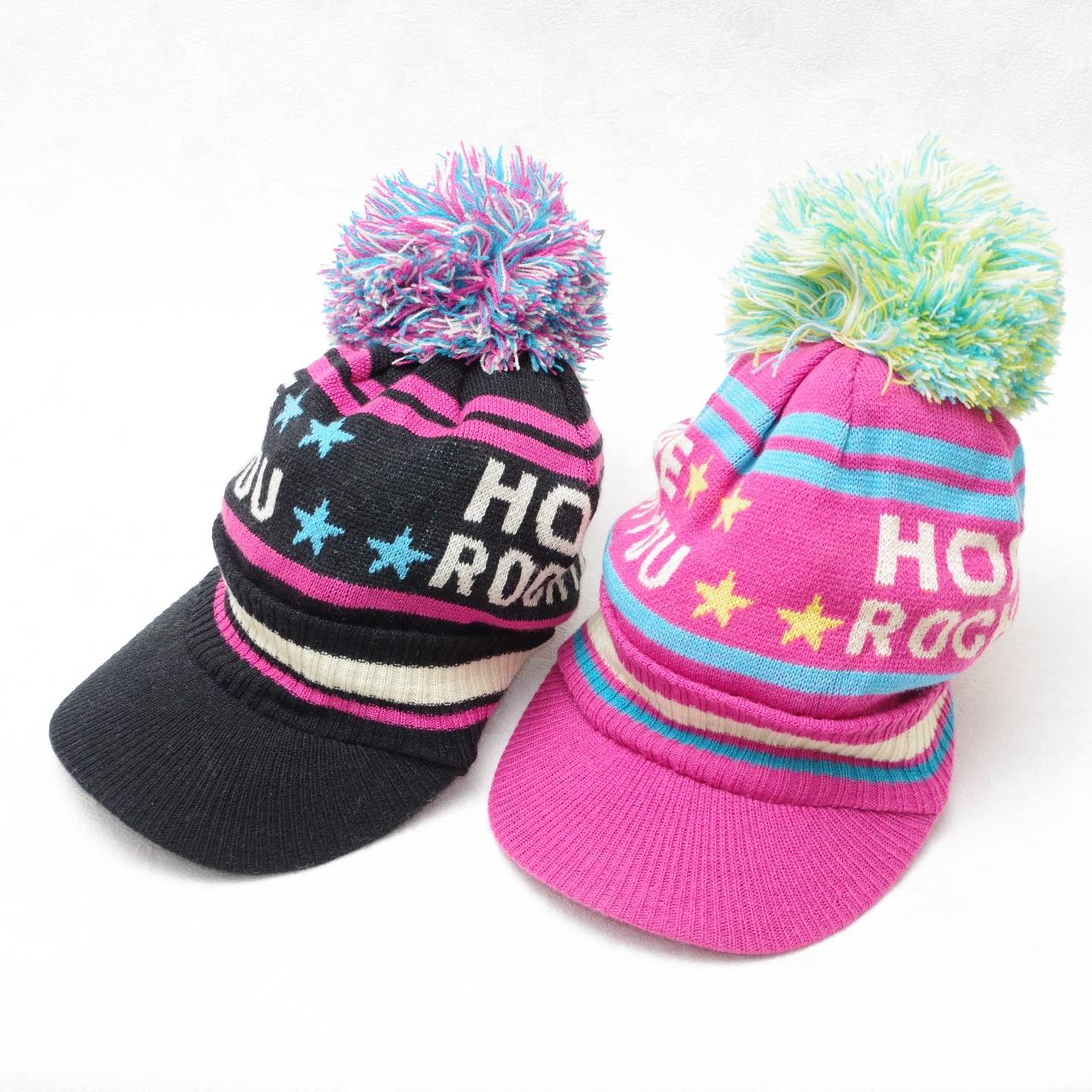 つば付き ニット帽、帽子 キッズ(323156MH)