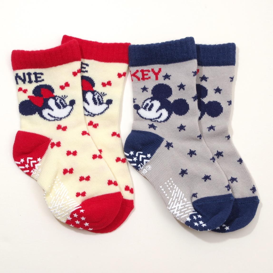 ディズニー!ミッキーミニーちゃん ソックス・靴下 12-15cm(1011-40012)