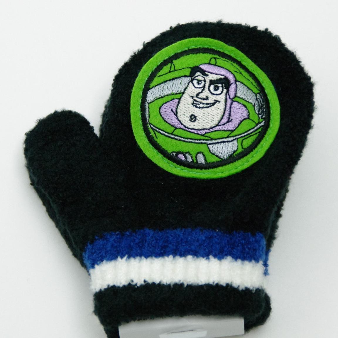 ディズニー トイストーリ 笛付き ミトン手袋 ブラック(L126876)